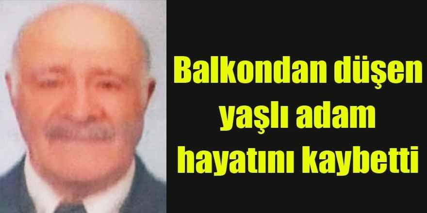 Terme'de Balkondan düşen yaşlı adam hayatını kaybetti