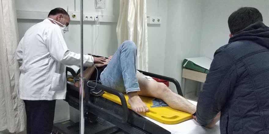 Havza'da silahlı saldırı 1 yaralı