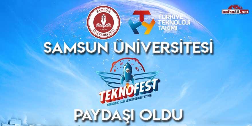 Samsun Üniversitesi TEKNOFEST'in akademik paydaşı oldu