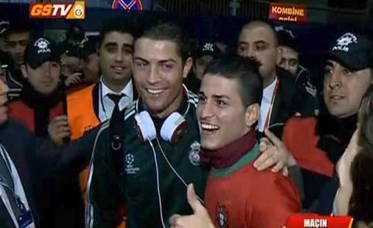 Adanalı Ronaldo hayaline kavuştu!