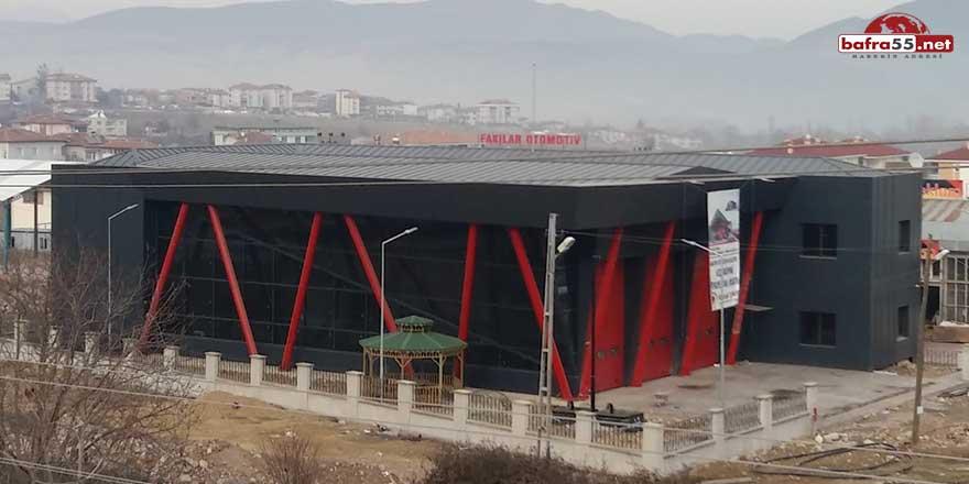 Vezirköprü'ye yeni itfaiye binası