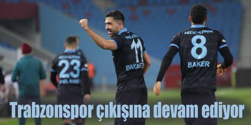 Trabzonspor çıkışına devam ediyor