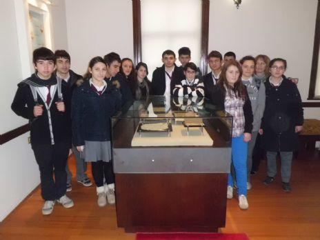 Öğrencilerden Mübadele Müzesine Ziyaret