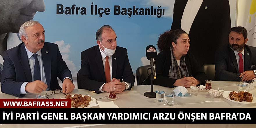 İyi Parti Genel Başkan Yardımcısı Arzu Önşen Bafra'da!