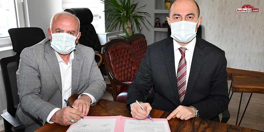 Terme Belediyesi, BEM-BİR-SEN ile Sosyal Denge Tazminatı Sözleşmesi imzaladı