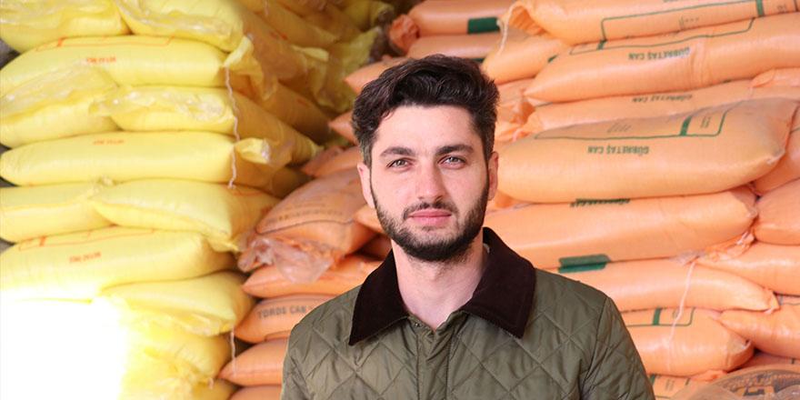 Havza Buğday pazarı başkanı desteklerden memnun
