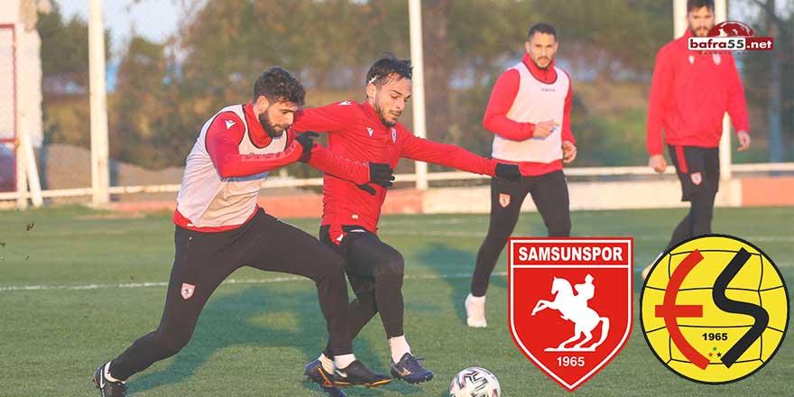 Samsunspor ile Eskişehirspor 50'nci randevuda
