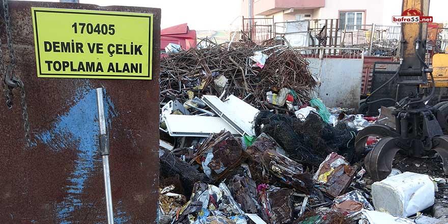 Sinop'ta 6 milyon TL'lik geri dönüşüm