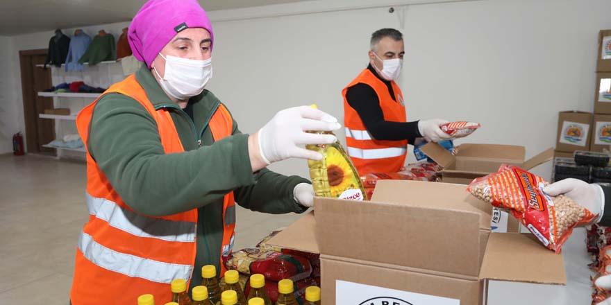 Atakum Belediyesinden 2 bin aileye yardım