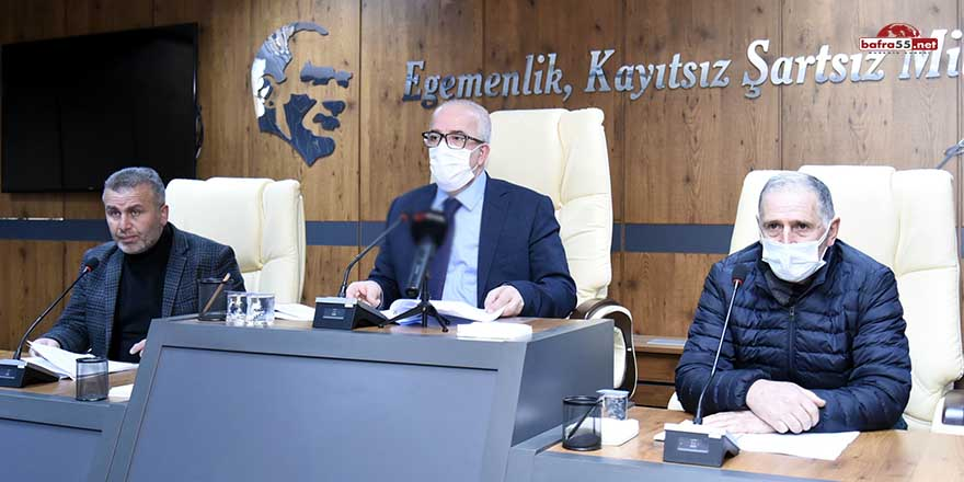 Tekkeköy'de aşevi için şartlı bağışın önü açıldı