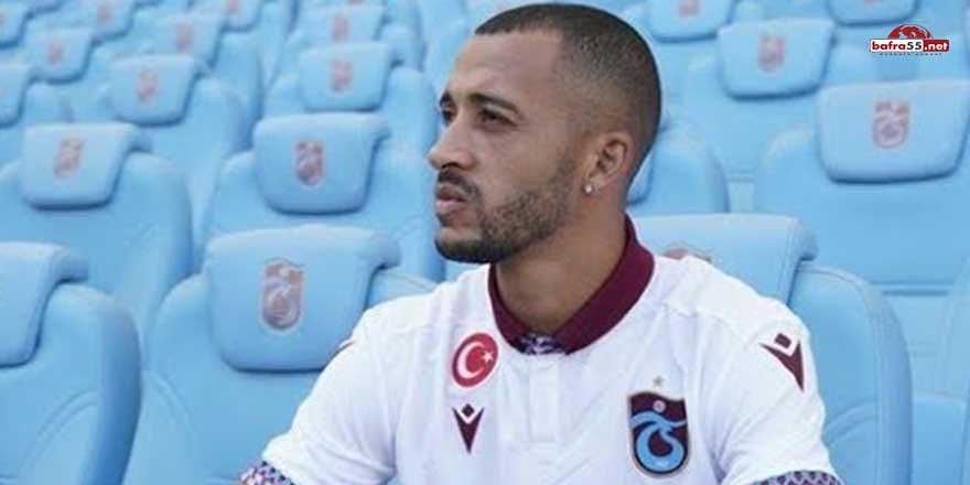 Trabzonsporlu futbolcunun burun kemiği kırıldı!