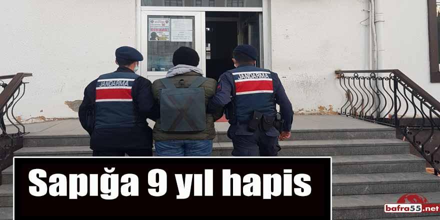 Yakakent'te yakalanan sapığa 9 yıl hapis
