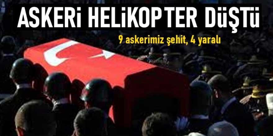 Bitlis'ten acı haber 9 şehidimiz var