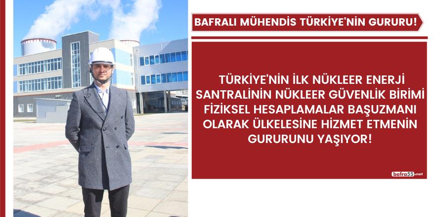 Bafralı Mühendis Türkiye'nin Gururu Oldu!