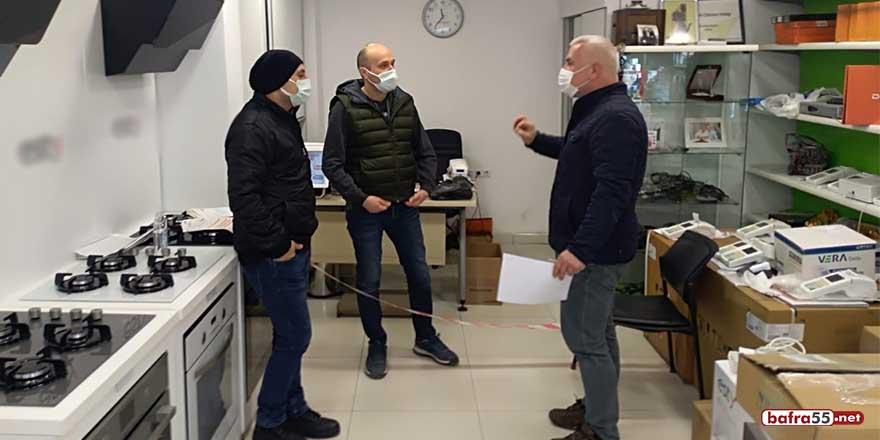 Sinop'ta esnaflara 'tedbirlere uyun' çağrısı