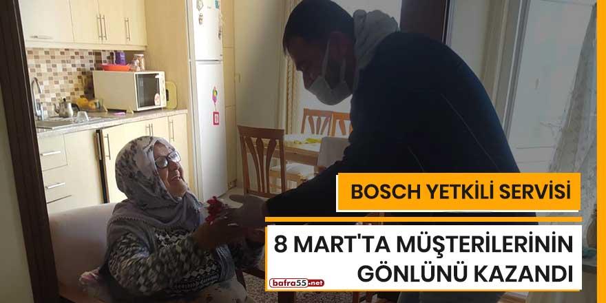 Bosch Yetkili Servisi 8 Mart'ta müşterilerinin gönlünü kazandı
