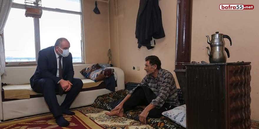 Başkan Sandıkçı ev ziyaretlerini sürdürüyor