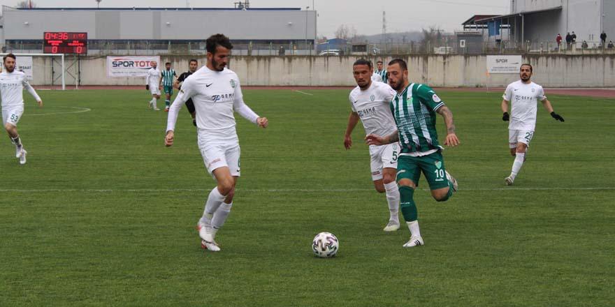 Çarşambaspor: 1 - Şile Yıldızspor: 2