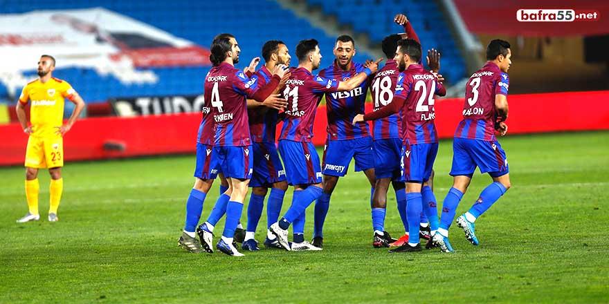 Trabzonspor 5 haftada 9 puan geriledi