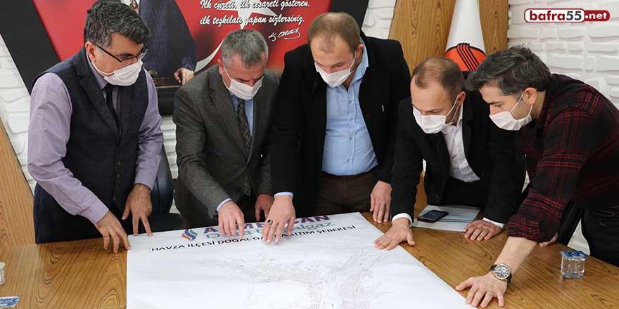 Havza'da 2021 doğalgaz yatırım programı görüşüldü