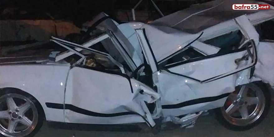 Samsun'da ölümlü kazanın sürücüsüne 5 yıl hapis