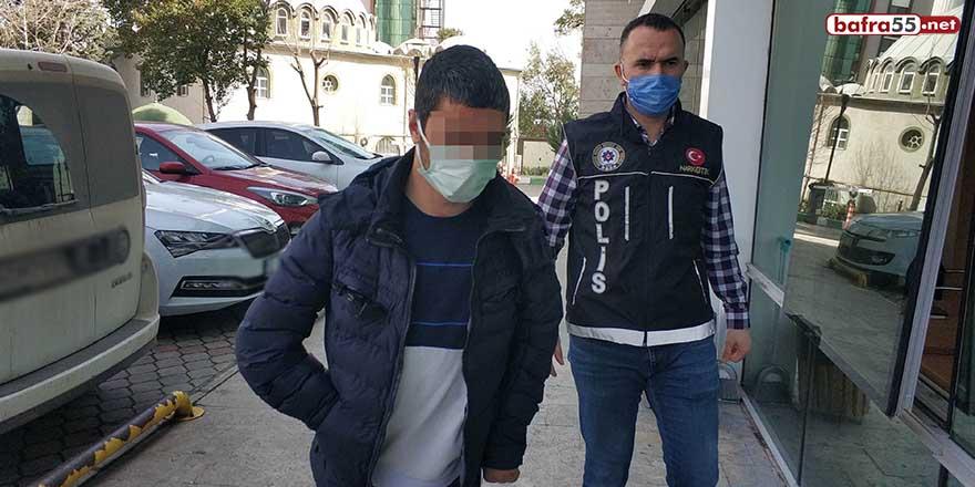 Samsun'da bir şahsın evinde uyuşturucu ele geçirildi!