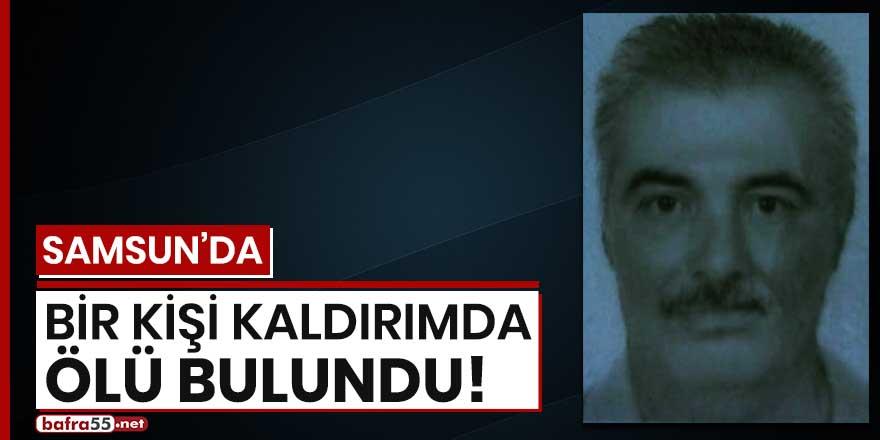 Samsun'da bir kişi kaldırımda ölü bulundu!