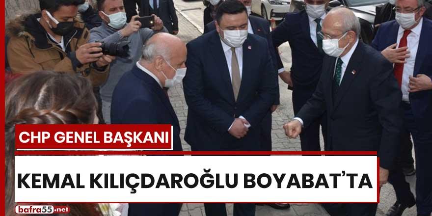 Kılıçdaroğlu Boyabat'ta