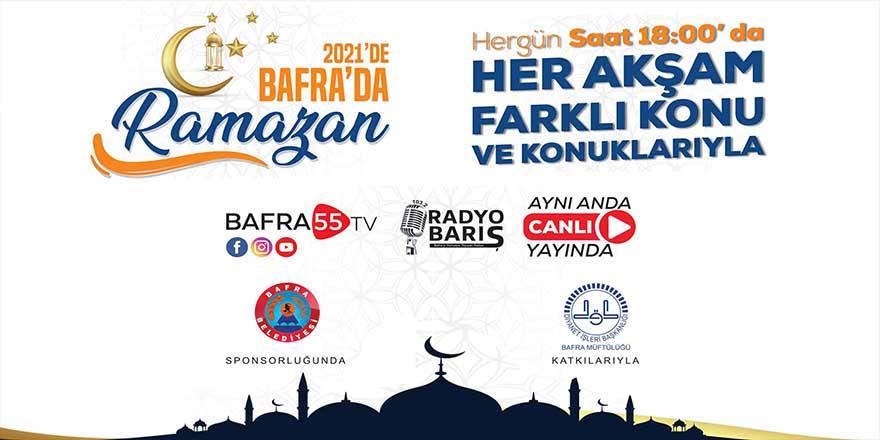 2021'de Bafra'da Ramazan