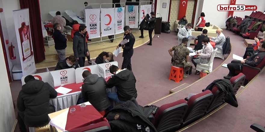 Sinop polisi kan bekleyenlere umut oldu