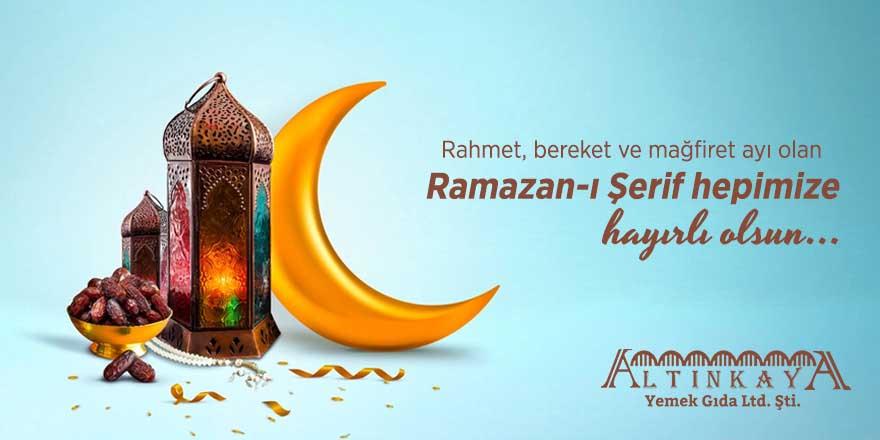 Altınkaya Yemek'ten Ramazan ayı mesajı