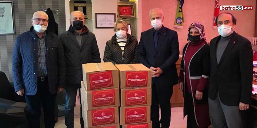 MHP Samsun'dan ihtiyaç sahiplerine ramazan kolisi