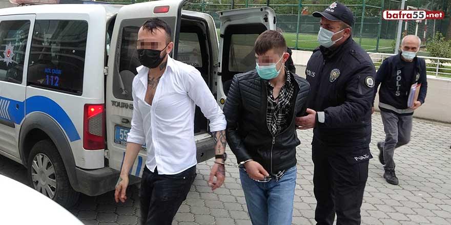 Samsun'da pastane sahibini darp eden 2 kişi gözaltında