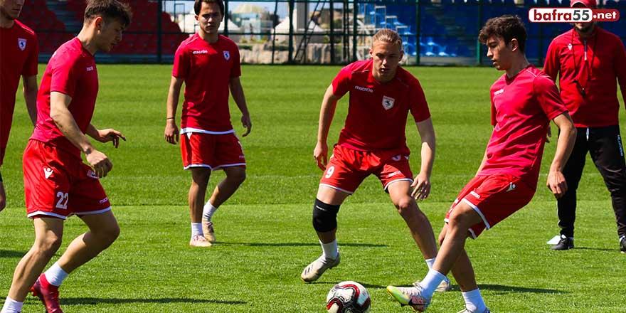 Samsunspor U19, Beypiliç Boluspor U19 maçı hazırlıklarına devam ediyor