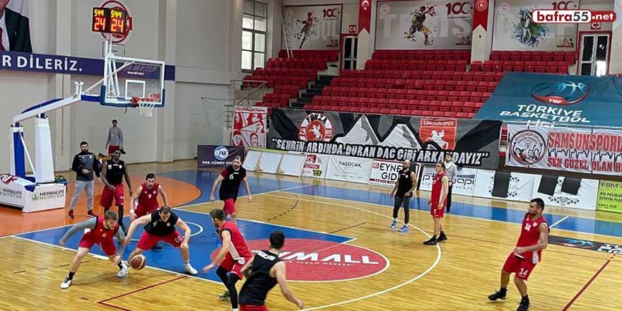 Samsunspor Basketbol, Konyaspor Basketbol maçına hazırlanıyor