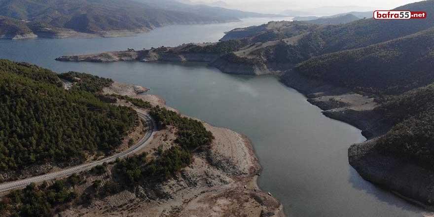 Samsun'daki barajların su seviyeleri arttı