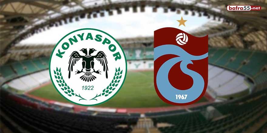 Trabzonspor ile Konyaspor 40. randevuda