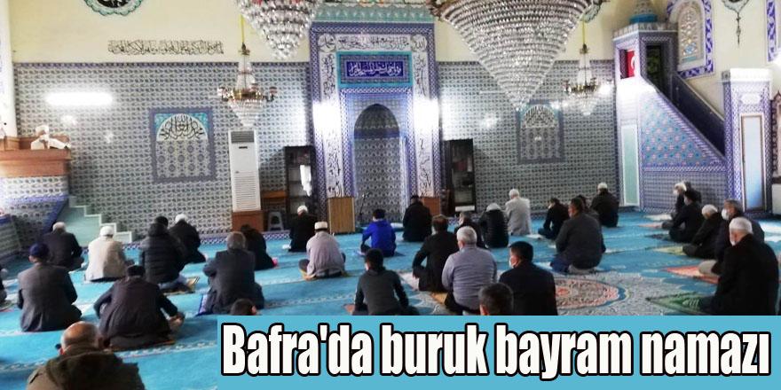 Bafra'da buruk bayram namazı
