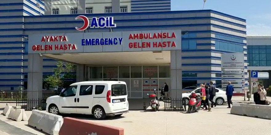 Samsun'da Hastanede oksijen tüpü patladı: 1 yaralı