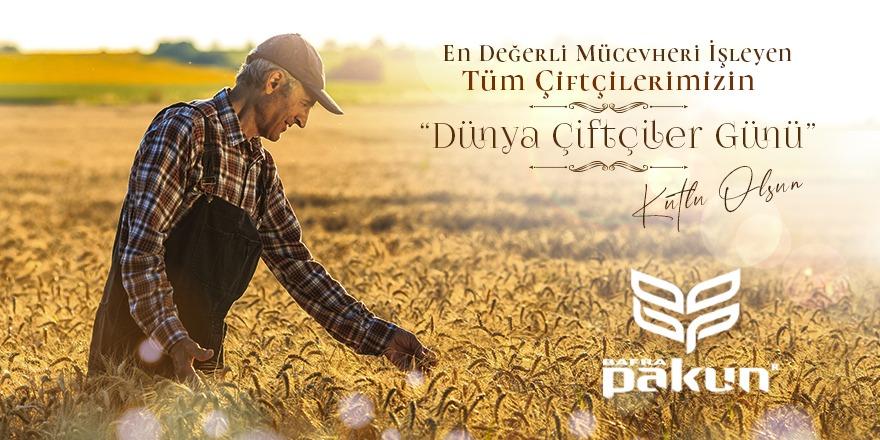 Turgay Durgun Çiftçiler günü mesajı