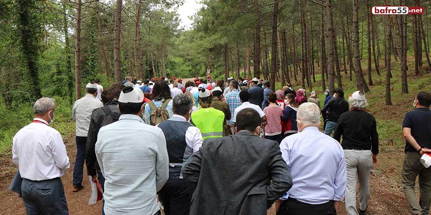 OMÜ'de 'Doğaya Saygı Yürüyüşü'