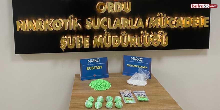 Ordu'da uyuşturucu satan 3 torbacı tutuklandı