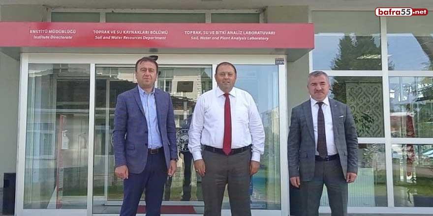 """Başkan Özdemir: """"Kurumlarımız ile iş birliğine açığız"""""""
