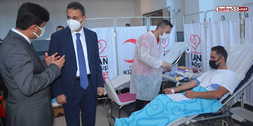 Sinop'ta kan alma seferberliği başlatıldı