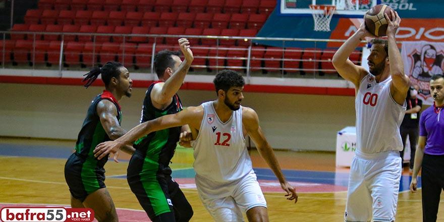 Samsunspor basket takımı durumu 1-1 yapatı