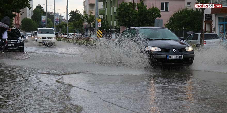 Bolu'da, metrekareye 10,4 litre yağmur düştü