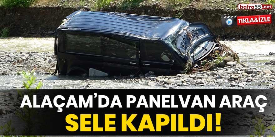 Alaçam'da panelvan araç sele kapıldı!