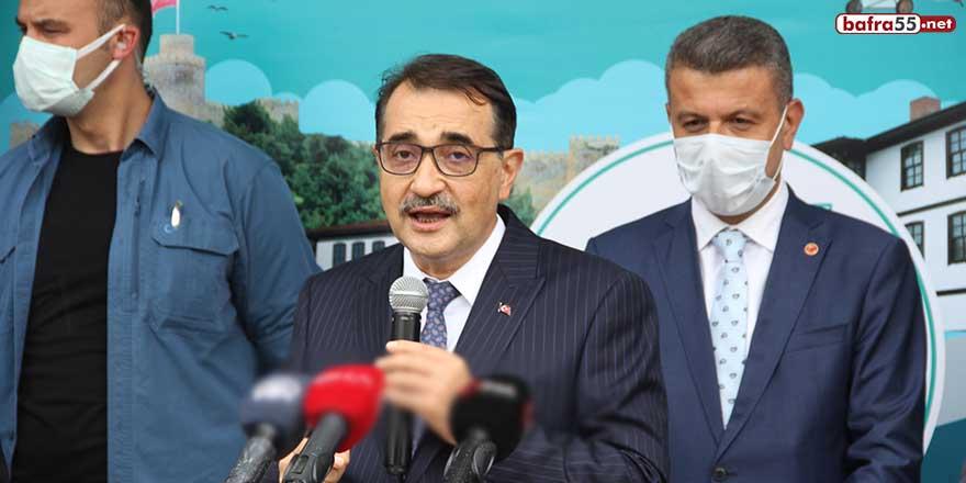 Enerji ve Tabii Kaynaklar Bakanı Fatih Dönmez Sinop ziyaretinde