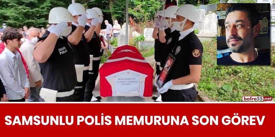 Samsunlu polis memuruna son görev