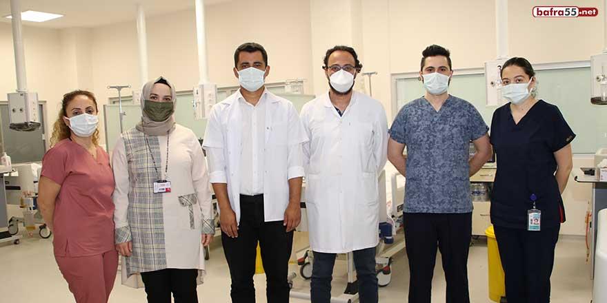 Sinop Atatürk Devlet Hastanesi'nde İnme Ünitesi açıldı